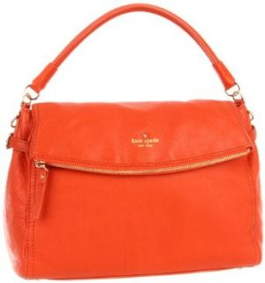 Kate Spade New York Cobble Hill Little Minka  Hobo,Tangerino,One Size Clothing