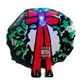 Stylish Mini Shiny LED Flash Light Magnet Home Party Festive Christmas Decoration   Led Gadgetsparty Gadgets