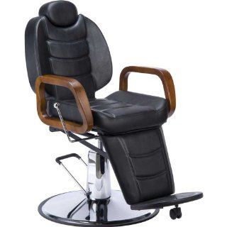 HYDRAULIC BARBER CHAIR ALL PURPOSE RECLINE BARBER SALON STYLING CHAIR   STALLONE  Hair Care Products  Beauty