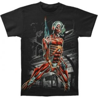 Iron Maiden Jumbo Somewhere In Time Eddie T shirt Music Fan T Shirts Clothing