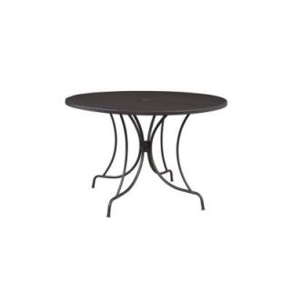 Hampton Bay Vera 44 in. Round Patio Dining Table HD14603
