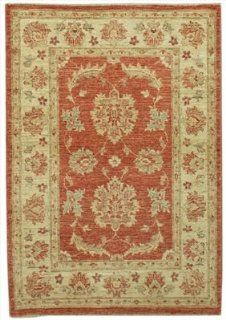 2.9 x 4 Rectangular Handmade Knotted Persian New Area Rug From Pakistan