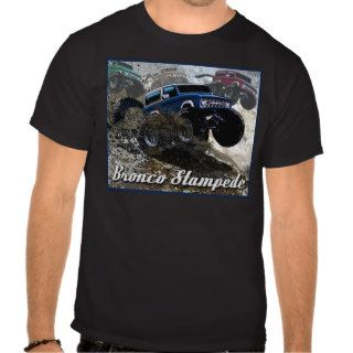 Ford Bronco Stampede T shirt