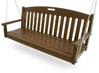Trex Outdoor Furniture Yacht Club Swing, Tree House (Discontinued by Manufacturer)  Porch Swings  Patio, Lawn & Garden