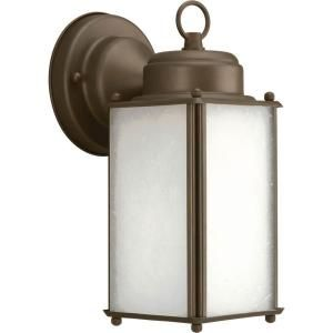 Progress Lighting Roman Coach Collection Wall Mount Outdoor Antique Bronze Lantern P5985 20WB