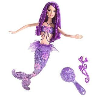 Barbie Fairytopia Purple Color Change Mermaid Doll Toys & Games