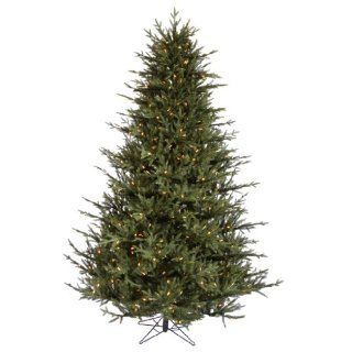 "Vickerman 21565   7.5' x 64"" Itasca Frasier 750 Warm White Italian LED Lights Christmas Tree (A110376LED)"