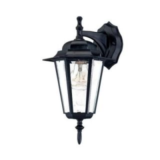 Acclaim Lighting Camelot Collection Wall Mount 1 Light Outdoor Matte Black Fixture 6102BK