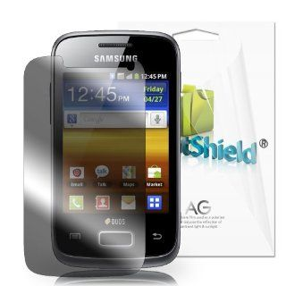 GreatShield Ultra Anti Glare (Matte) Clear Screen Protector Film for Samsung Exhilarate SGH i577 (3 Pack) Cell Phones & Accessories