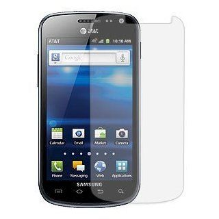 Samsung Galaxy Exhilarate Anti Glare Screen Protector (Samsung SGH i577) Cell Phones & Accessories