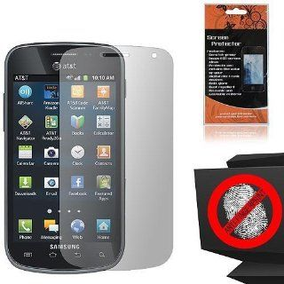 Anti Glare Screen Protector for Samsung Galaxy Exhilarate SGH I577 Cell Phones & Accessories