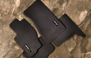 Jeep Grand Cherokee & Commander Premium Carpeted Floor Mats Automotive