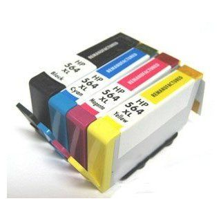 HouseOfToners 4 PK HP 564XL 564 New Generation CN684WN   Remanufactured in USA Photosmart 6510 6520 7510 7520 Printer (Alternative Replacement) Electronics