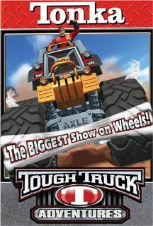 Tonka Tough Truck Adventures    The Biggest Show on Wheels [VHS] Bill Mondy Movies & TV