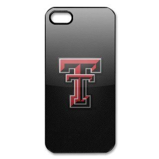 DIYCase Cool NCAA Series Texas Tech Red Raiders   Hard Back Case for iphone 5   Black Case Designer   138868 Cell Phones & Accessories