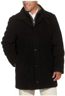 Aberdeen Sportswear Men's Wool Cashmere Car Coat with Bibby, Black, Large at  Men�s Clothing store Outerwear