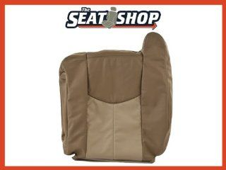 03 04 05 06 GMC Yukon Denali XL 2Tone Tan Leather Seat Cover LH top Automotive