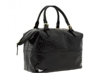 Kate Spade Patent Leather Ostrich Large Satchel Clothing