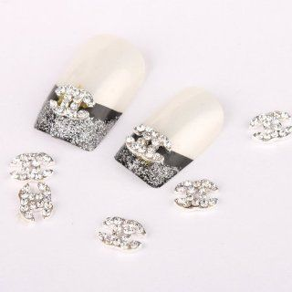 Vip Beauty Shop 3d Alloy Rhinestone Nail Art Glitter DIY Decoration 10pcs  Beauty