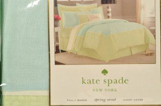 Kate Spade Spring Street Full/Queen Duvet Cover Swan Dive   Kate Spade Bedding