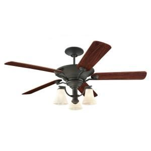 Sea Gull Lighting Somerton 56 in. Indoor Blacksmith Ceiling Fan 15170B 839