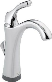 Delta 592T DST Addison Single Handle Lavatory Faucet with Touch2O.xt Technology, Chrome   Touch On Bathroom Sink Faucets
