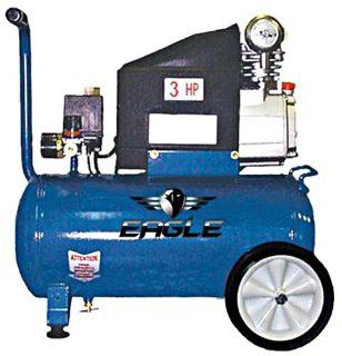 Eagle 653036L 6.5 Gallon 125 Max PSI Electric Compressor   Automotive Air Compressors