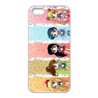 Sailor Moon Anime Accessories Apple Iphone 5 Waterproof TPU Back Cases Cell Phones & Accessories