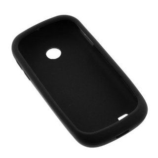 GTMax Black Soft Rubber Silicone Skin Protector Cover Case for AT and T Samsung Eternity II SGH A597 GSM Cell Phone Cell Phones & Accessories
