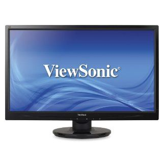 ViewSonic VA2446M LED 24 Inch LED Lit LCD Monitor, Full HD 1080p, DVI/VGA, Speakers, VESA Computers & Accessories