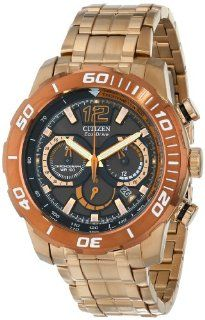 Citizen Men's CA4086 56E Primo Stingray 620 Analog Display Japanese Quartz Rose Gold Watch Watches
