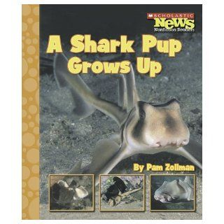 A Shark Pup Grows Up (Scholastic News Nonfiction Readers Animal Life Cycles) Pam Zollman 9780516249452 Books