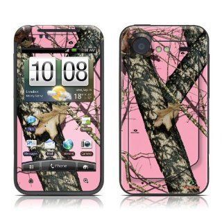 Break Up Pink Design Protective Skin Decal Sticker for HTC Incredible S / Incredible 2 Cell Phone Cell Phones & Accessories