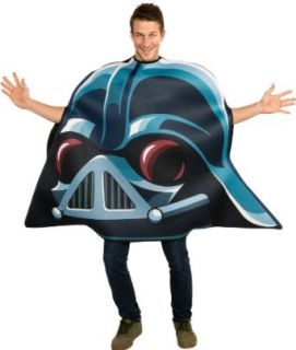 Angry Birds Star Wars Darth Vader Adult Costume, Blue, One Size Clothing