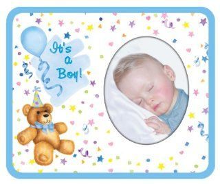 It's A Boy bear Baby Photo Magnet Frame   Childrens Frames
