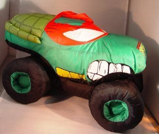 Teenage Mutant Ninja Turtles Raphael Monster Truck Monster Jam Stuffed Plush  Other Products