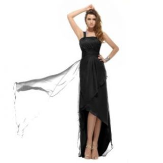 Sunvary Modest High Low Chiffon Evening Party Dress Wedding Guest Dress