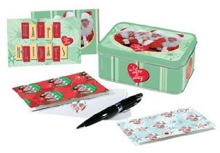 I Love Lucy Christmas Holidays Note Card Gift Set New Health & Personal Care