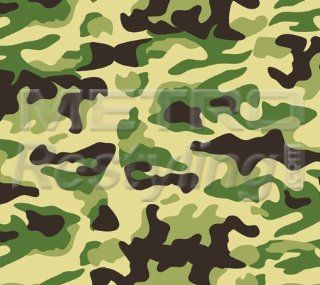 "Small Jungle Camouflage Vinyl Wrap Decal Adhesive Backed Sticker Film 48""x60"" Automotive"