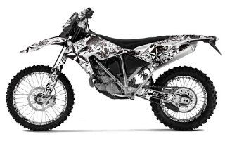 AMR Racing BMW G450X 2010 2012 Northstar   White MX Dirt Bike Graphic Kit Automotive