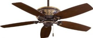 "Minka Aire F659 MCG 54"" 5 Blade in Mottled Copper w/Gold Hi Lights and Dark Walnut Blades Classica   Ceiling Fans"