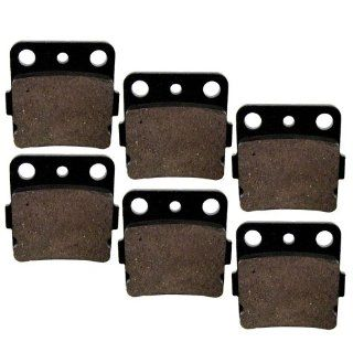 Brake Pads Yamaha Raptor 660 YFM660 2001 2005 Front Rear Brakes Automotive