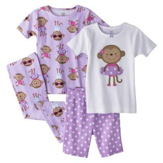 Just One You Made by Carters Infant Toddler Girls 4 Piece Short Sleeve