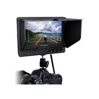 Professional LILLIPUT 7'' 665 /O/P 665GL 70NP/HO/Y/P Color TFT LCD Monitor With HDMI, YPbPr, AV Input HDMI Output / With F 970 & QM91D Battery Plate + Sun Shade Cover + Free Hot shoe Mount/ 4 NEW Function Peaking Filter, False Color Filter, Ze