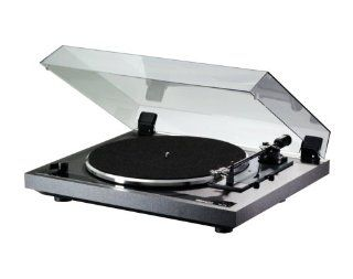 Thorens TD170 3 Speed Automatic Belt Drive Turntable (Black) Electronics