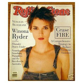 WINONA RYDER   ISSUE # 677   ROLLING STONE MGAZINE    MARCH 10TH, 1994 rolling stone Books