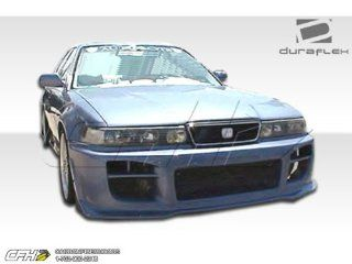 1992 1994 Acura Vigor Duraflex R34 Body Kit   4 Piece   Includes R34 Front Bumper Cover (101071) XGT Rear Bumper Cover (101072) Spyder Side Skirts Rocker Panels (101070) Automotive