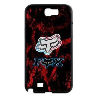 Black & Red Top Design Fox Racing Samsung Galaxy Note 2 N7100 Faceplate Hard Cell Protector Housing Case Cover Snap On NEW Cell Phones & Accessories