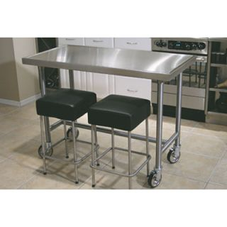 Line by Advance Tabco Chefs Prep Table with Stainless Steel Top