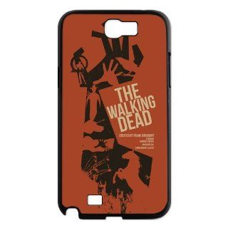 Designyourown Case Walking Dead Samsung Galaxy Note 2 Case Samsung Galaxy Note 2 N7100 Cover Case Fast Delivery SKUnote2 696 Cell Phones & Accessories